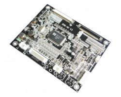 Multi-functional industrial LCD A/D board